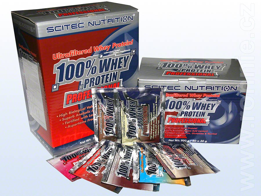 100 % Whey Protein Professional  (60 x 30 g a  30 x 30 g)
