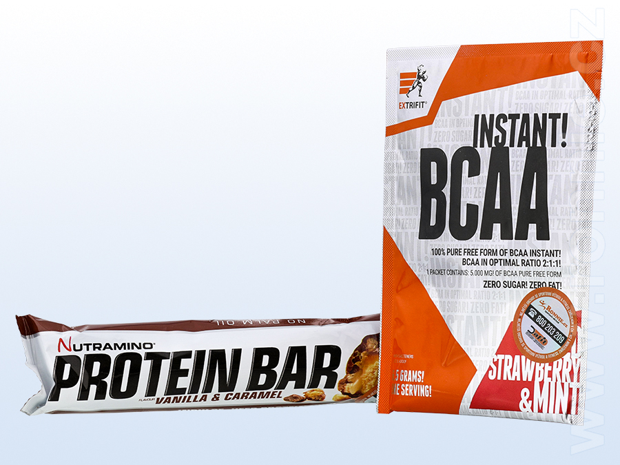 Protein Bar (64 g) + BCAA Instant (6,5 g)