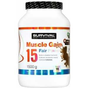 Muscle Gain 15 Fair Power (R) - Survival