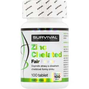 Zinc Chelated Fair Power (R) - Survival