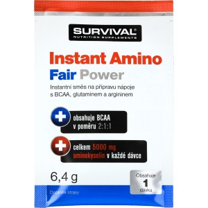 Instant Amino Fair Power (R) - vzorek (6,4 g) - Survival