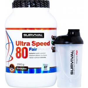 Ultra Speed 80 Fair Power (R) + šejkr ZDARMA! - Survival