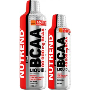 BCAA Liquid + 500 ml ZDARMA! - Nutrend