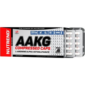 AAKG Compressed Caps - Nutrend