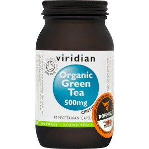 Organic Green Tea 500 mg - Viridian