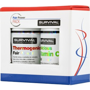 Thermogenic Fair Power (R) + Delicious Vitamin C Fair Power (R) ZDARMA! (Survival)