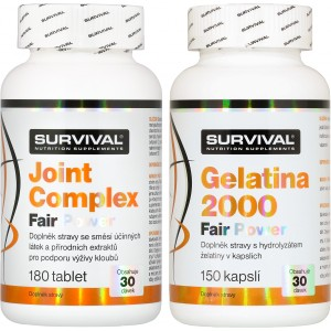 Joint Complex + Gelatina 2000 Fair Power (R) ZDARMA! - Survival