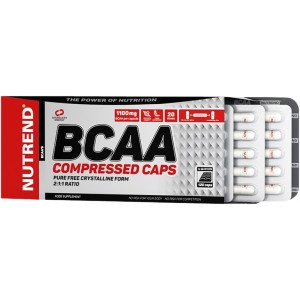 BCAA Compressed Caps - Nutrend