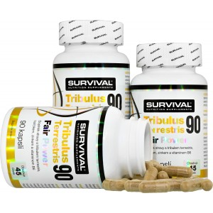 Tribulus Terrestris 90 Fair Power (R) 2+1 ZDARMA! - Survival