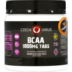 BCAA 1800 mg Tabs (Czech Virus)