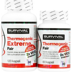Thermogenic Extreme + Thermogenic Fair Power (R) ZDARMA! - Survival