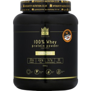 100 % Whey Protein Powder (black) - My Identity