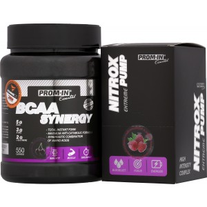 Essential BCAA Synergy + Nitrox Pump Extreme ZDARMA! - PROM-IN