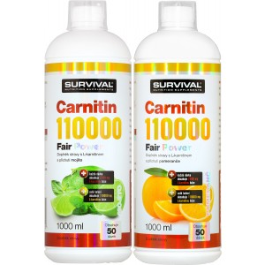 Carnitin 110000 Fair Power (R) 1+1 - Survival
