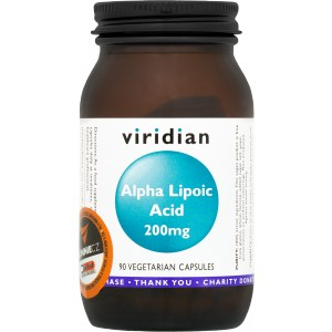 Alpha Lipoic Acid 200 mg - Viridian