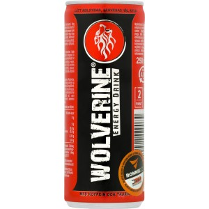 Wolverine Energy Drink - First Class Brands of Sweden AB
