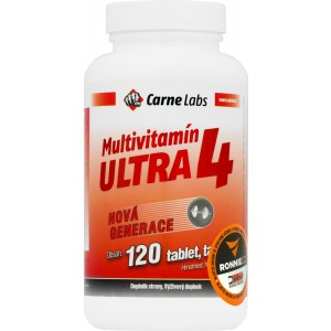 Multivitamín Ultra 4 (Carne Labs)
