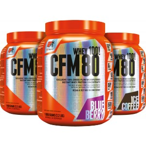 CFM Instant Whey 80 - akce 2+1! - Extrifit