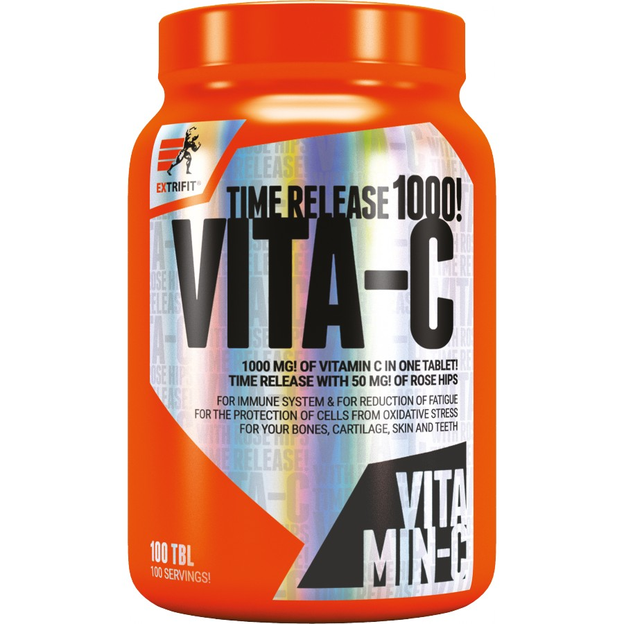 Vitamín C 1000 mg Time Release - Extrifit