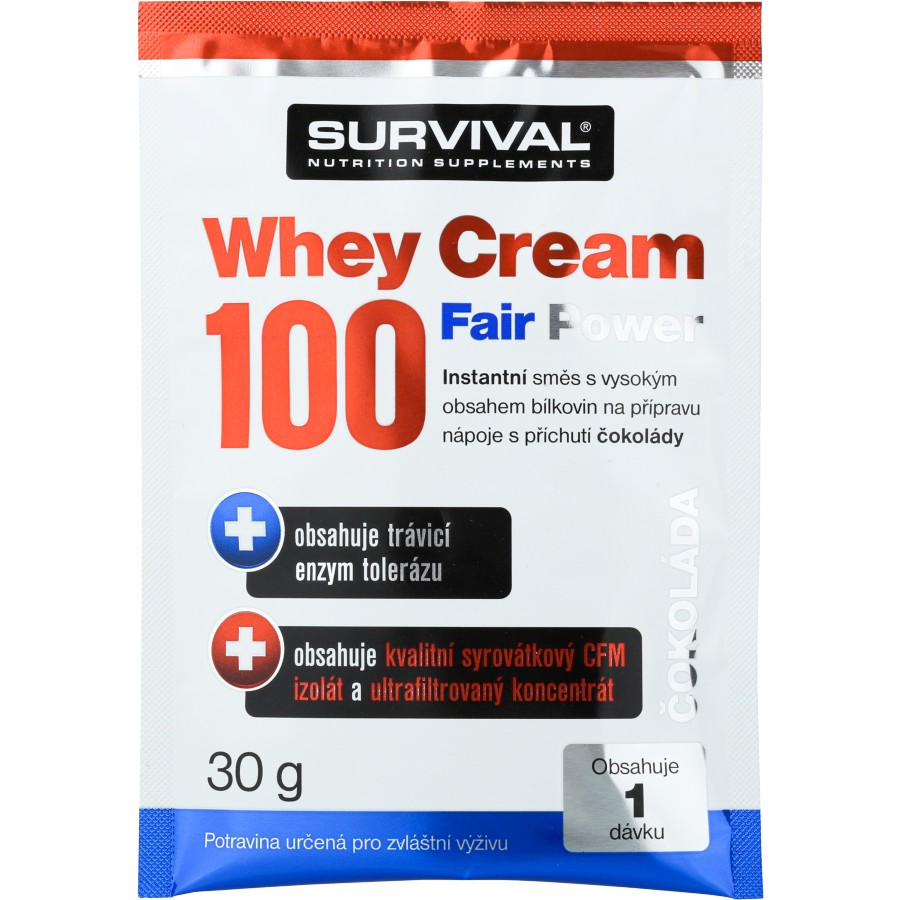Whey Cream 100 Fair Power (R) - vzorek (30 g) - Survival