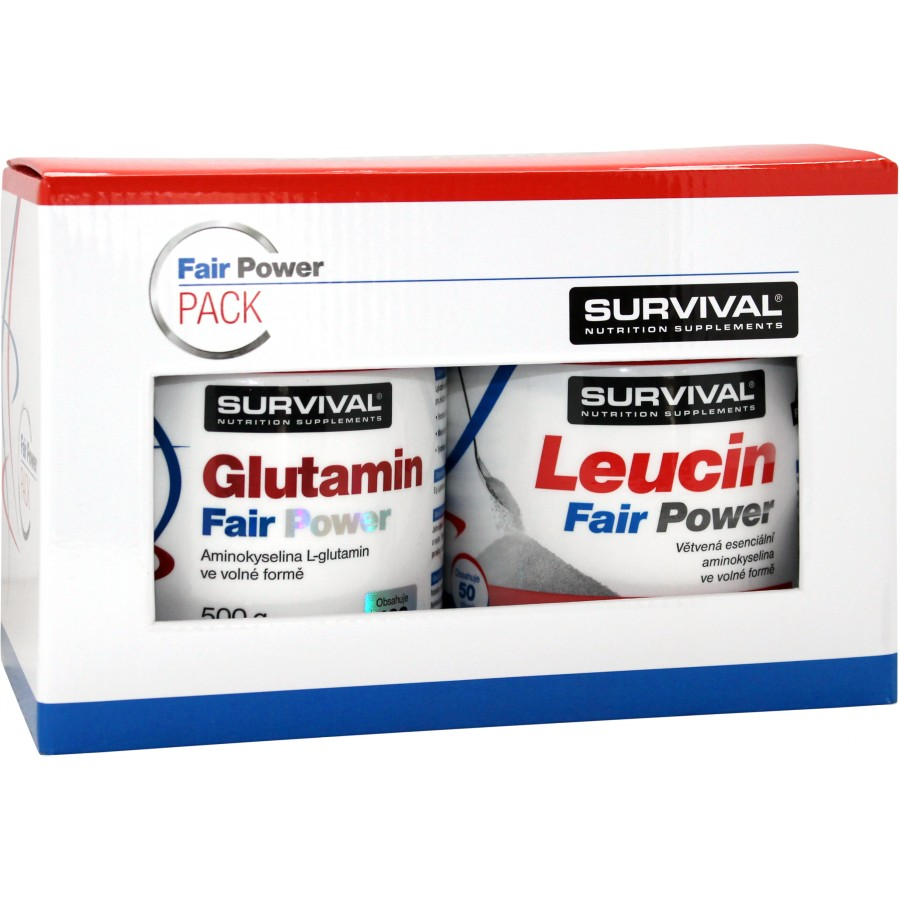 Glutamin Fair Power (R) + Leucin Fair Power (R) - Survival