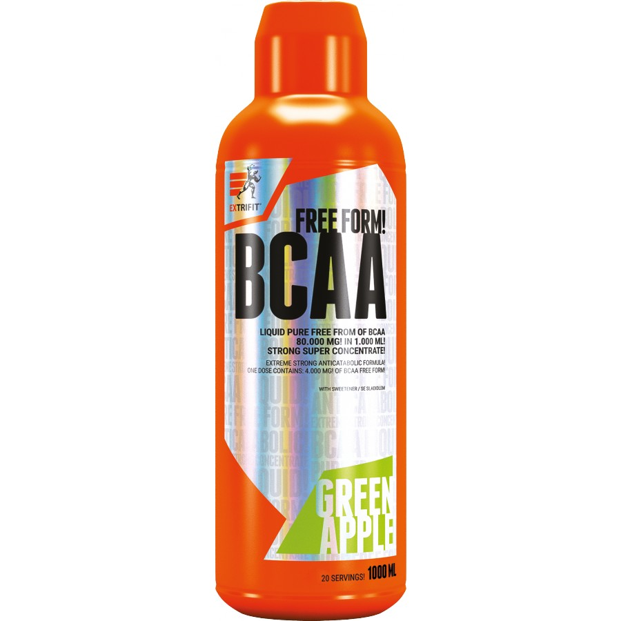 BCAA Free Form Liquid 80000 mg - Extrifit