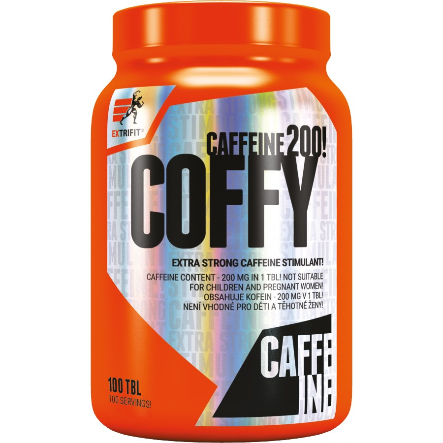 Coffy 200 mg Stimulant - Extrifit