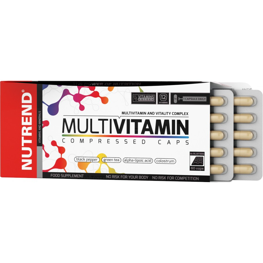 Multivitamin Compressed Caps - Nutrend