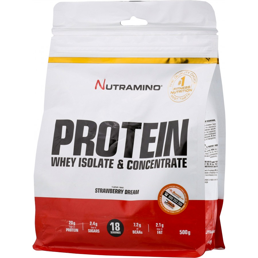 Protein Whey Isolate & Concentrate - Nutramino