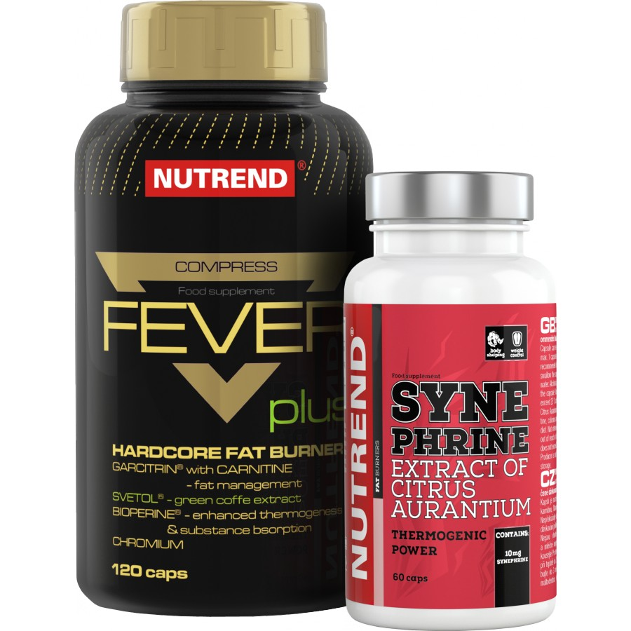 Compress Fever Plus + Synephrine ZDARMA! - Nutrend