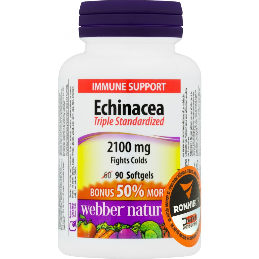 Echinacea (Standardized Herb Extract) - Webber Naturals