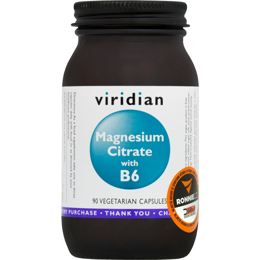 Magnesium Citrate With B6 - Viridian