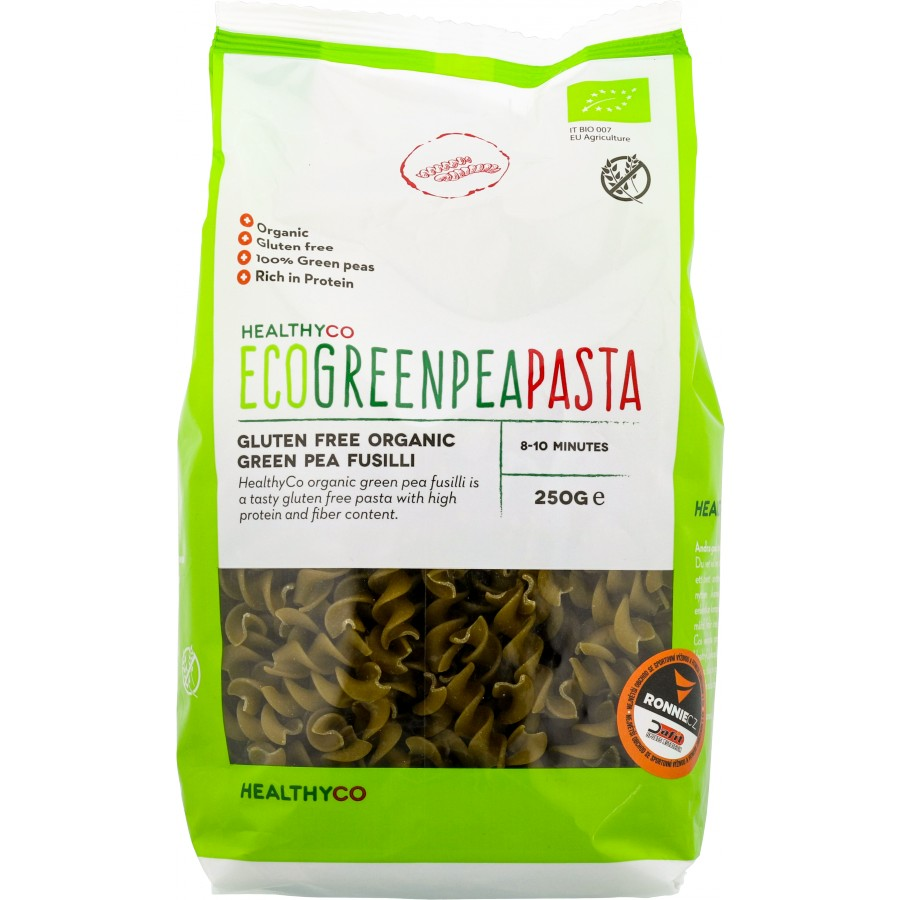 Eco Green Pea Pasta (těstoviny) - First Class Brands of Sweden AB