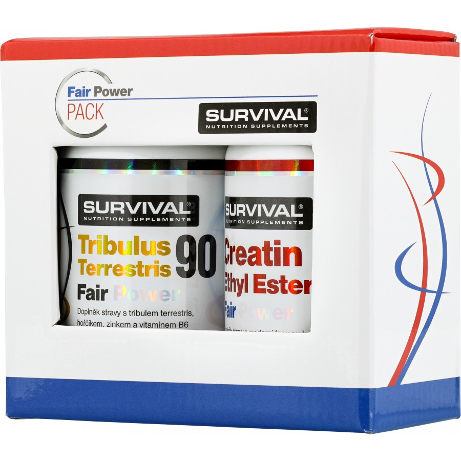 Tribulus Terrestris 90 Fair Power (R) + Creatin Ethyl Ester Fair Power (R) - Survival
