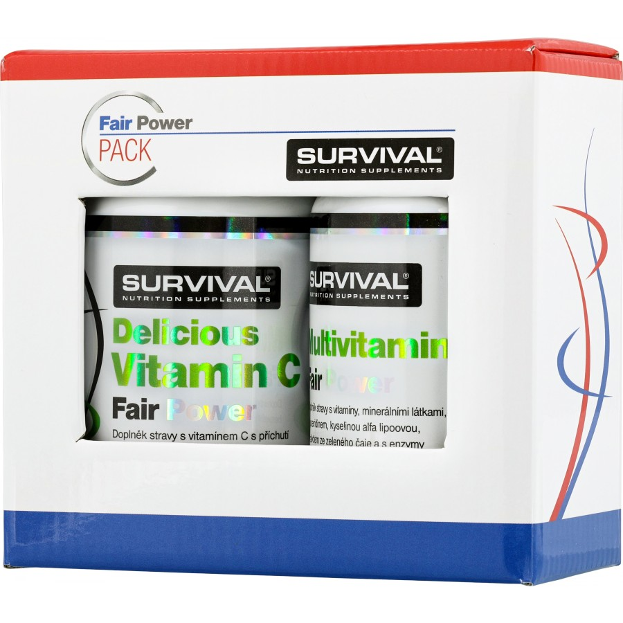 Multivitamin Fair Power (R) + Delicious Vitamin C Fair Power (R) - Survival