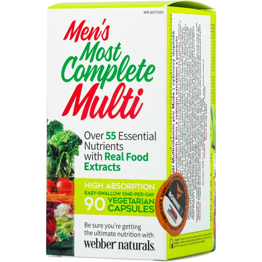 Men´s Most Complete Multi - Webber Naturals
