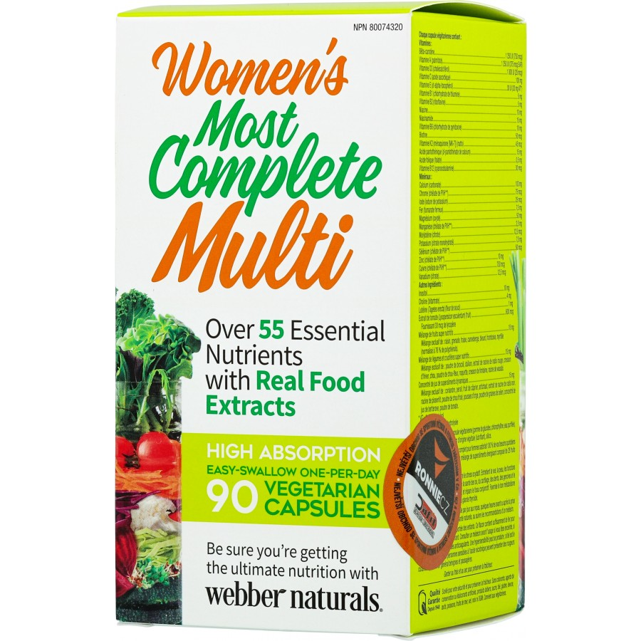 Women´s Most Complete Multi - Webber Naturals