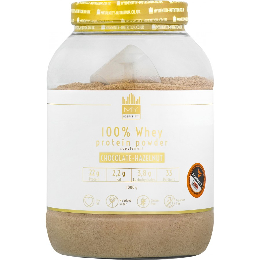 100 % Whey Protein Powder - My Identity