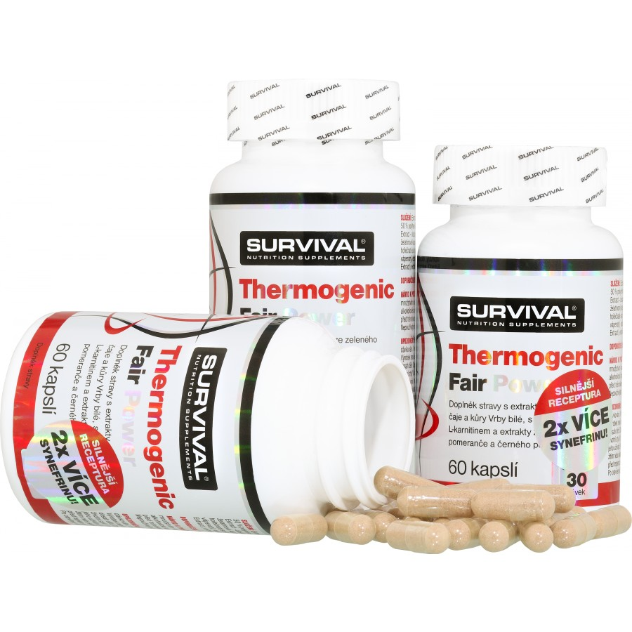 Thermogenic Fair Power (R) 2+1 ZDARMA! - Survival