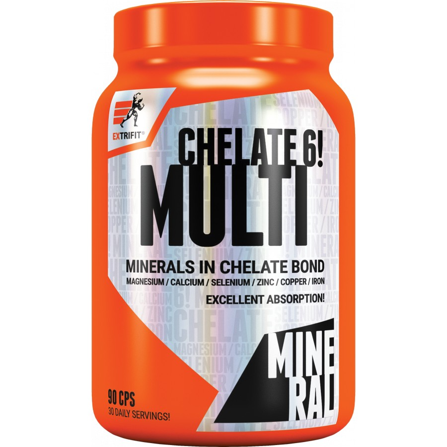 Multimineral Chelate 6! - Extrifit