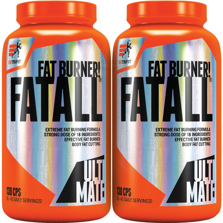 Fatall (R) Ultimate Fat Burner 1+1 ZDARMA! - Extrifit