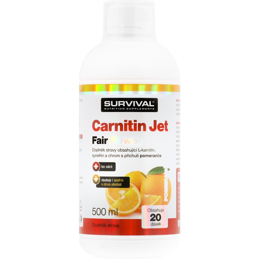 Carnitin Jet 3000 Fair Power (R) - Survival