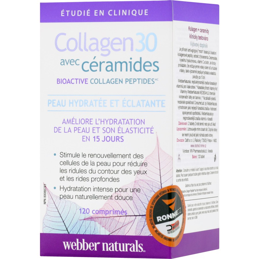 Collagen30 with Ceramides - Webber Naturals