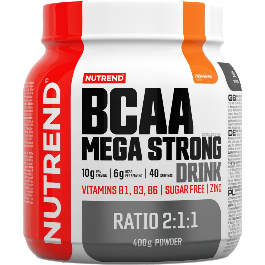 BCAA Mega Strong Drink - Nutrend