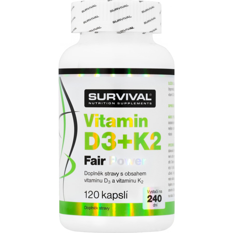 Vitamin D3+K2 Fair Power (R) - Survival