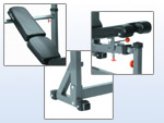 Bench-press polohovací Impulse IF - OB