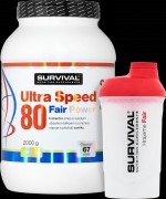 Ultra Speed 80 Fair Power (R) (2000 g) - vanilka
