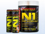 N1 Pre-Workout (510 g) + N1 Shot (2x 60 ml)
