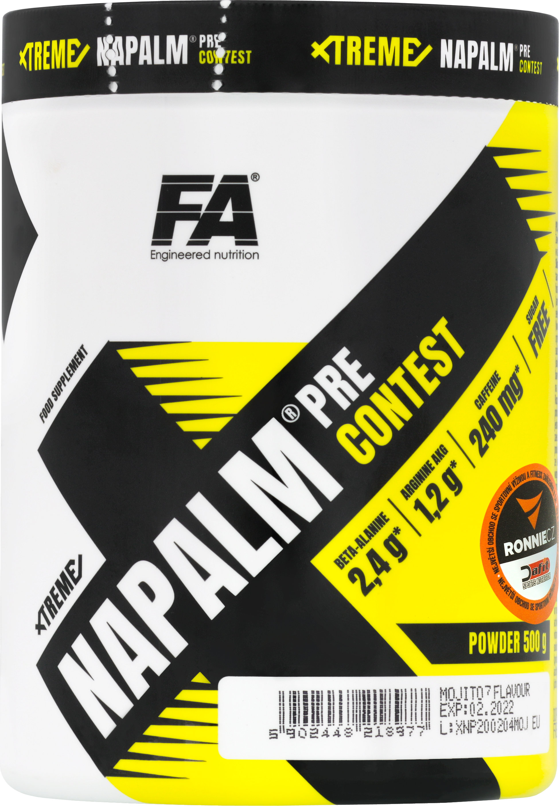 Xtreme Napalm Pre-Contest (500 g) + Protein Pancake 50 % (50 g)
