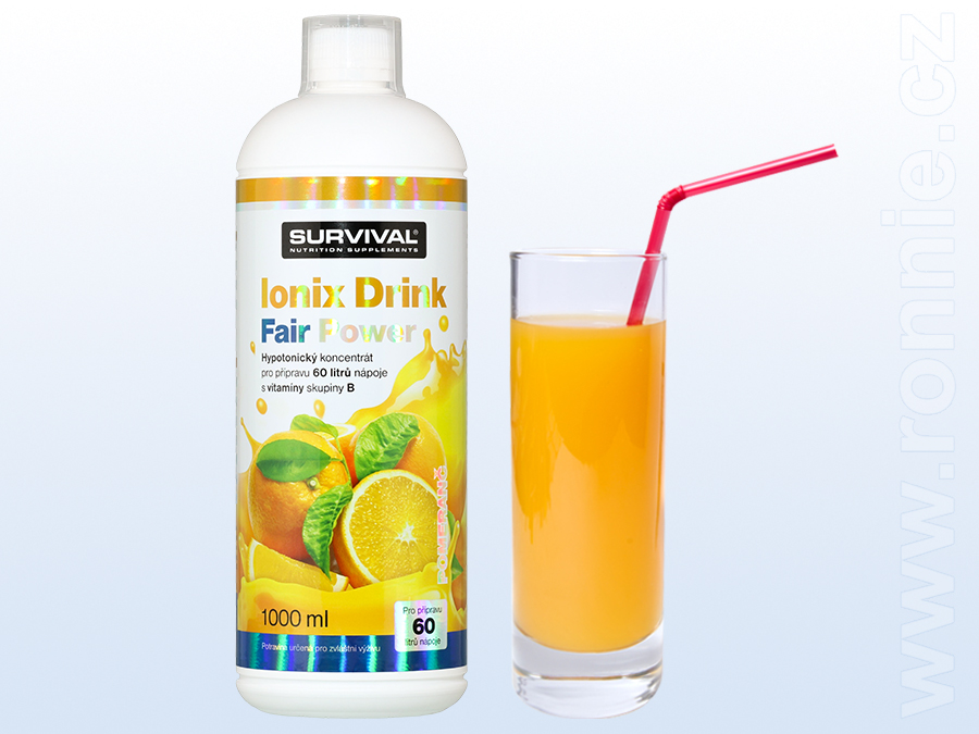 Ionix Drink Fair Power (R) (1000 ml) - pomeranč
